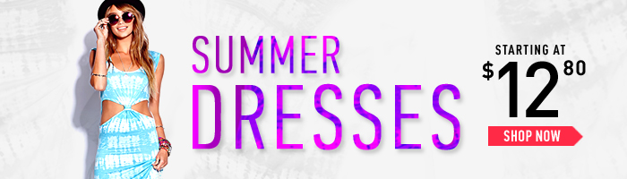 Summer Dresses Starting at $12.80 - Shop Now