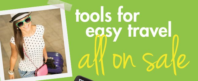 tools for easy travel all on sale