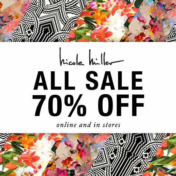 70% Off All Sale