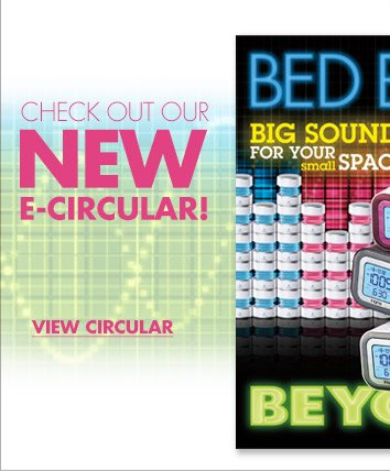 CHECK OUT OUR NEW E-CIRCULAR! VIEW CIRCULAR