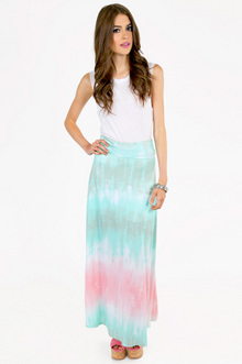 BLAST FROM THE PAST MAXI SKIRT 35