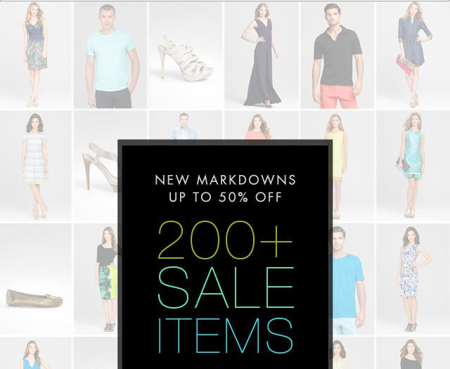 New Markdowns up to 50% off: 200+ Sale Items