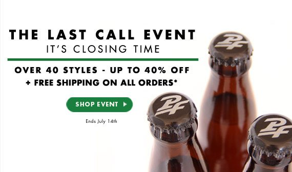 Over 40 styles - up to 40% OFF. Free Shipping on All Orders*