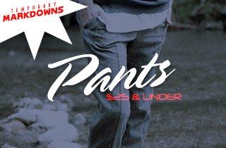 Pants $25 & Under