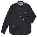 Black Patch-Pocket Shirt