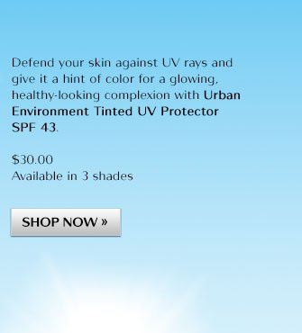Defend your skin against UV rays and give it a hint of color for a glowing, healthy-look.