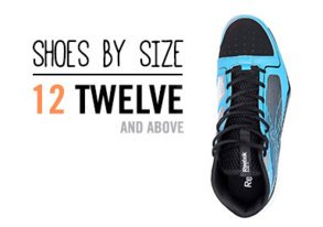 Shop Shoes By Size: 12+