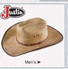 Justin Hats on Sale