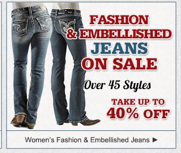 All Embellished Jeans on Sale