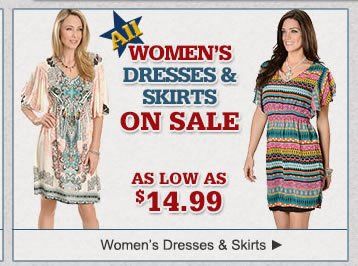 All Womens Dress Clothing on Sale