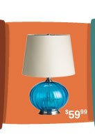 Sphere Lamp - Turquoise