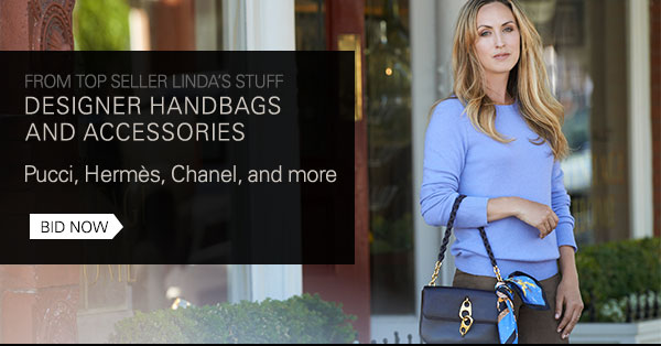 From top seller Linda's Stuff: Designer handbags and accessories/Pucci, Hermes, Chanel and more/Bid now