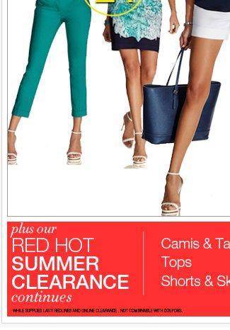 Shop the Summer's Hot List NOW!