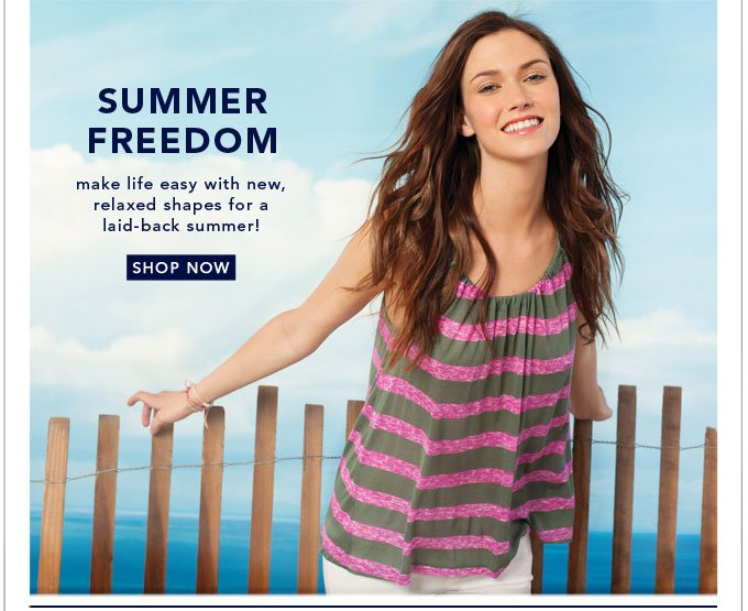 Summer Freedom - Shop Now