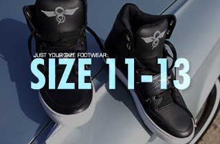 Just Your Size Footwear: Size 11-13