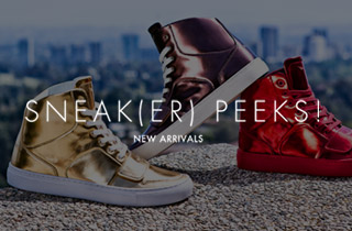 Sneak(er) Peeks! New Arrivals