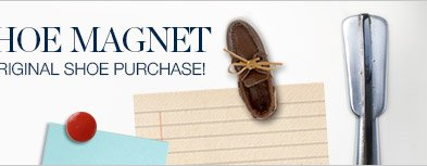 FREE BOAT SHOE MAGNET | WITH AUTHENTIC ORIGINAL PURCHASE