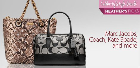 Marc jacobs, coach, kate spade and more