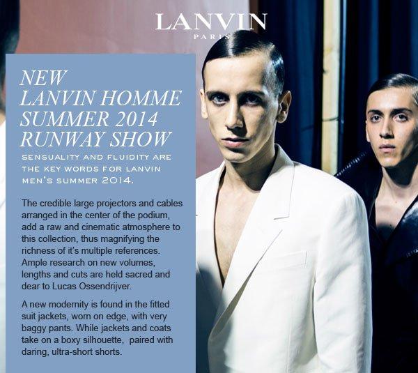 LANVIN SUMMER 2014