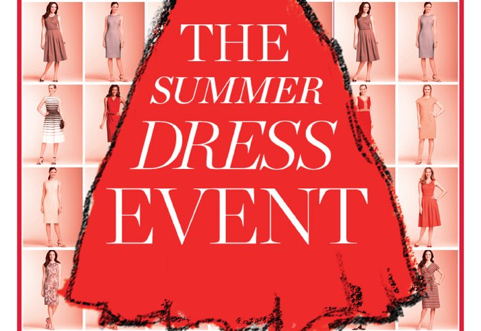 3 Days Only! The Summer Dress Event. Reg $109 - $249 now $59.99, select styles.