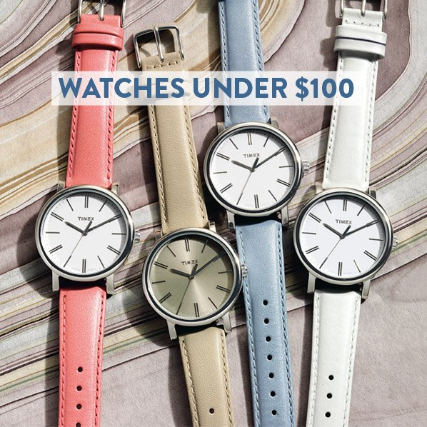 WATCHES UNDER $100