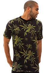 The Leaf Tee in Black