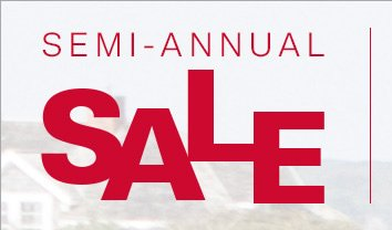 Semi-Annual Sale Email Exclusive - Take an additional 20% Off all sale styles* - Use promo code: SASE13