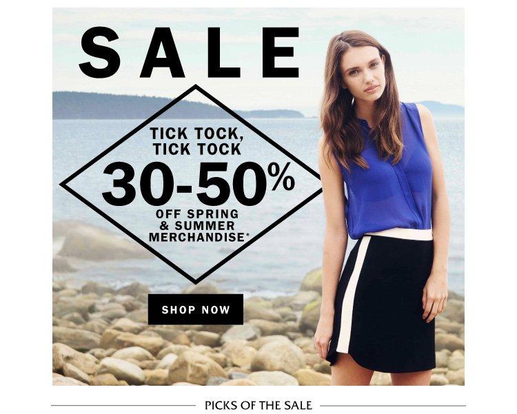 Sale: Tick Tock, Tick Tock!