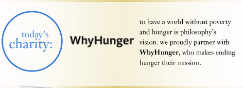today`s charity: WhyHunger
