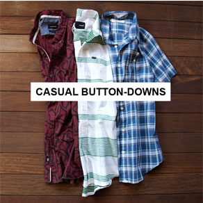 CASUAL BUTTON-DOWNS