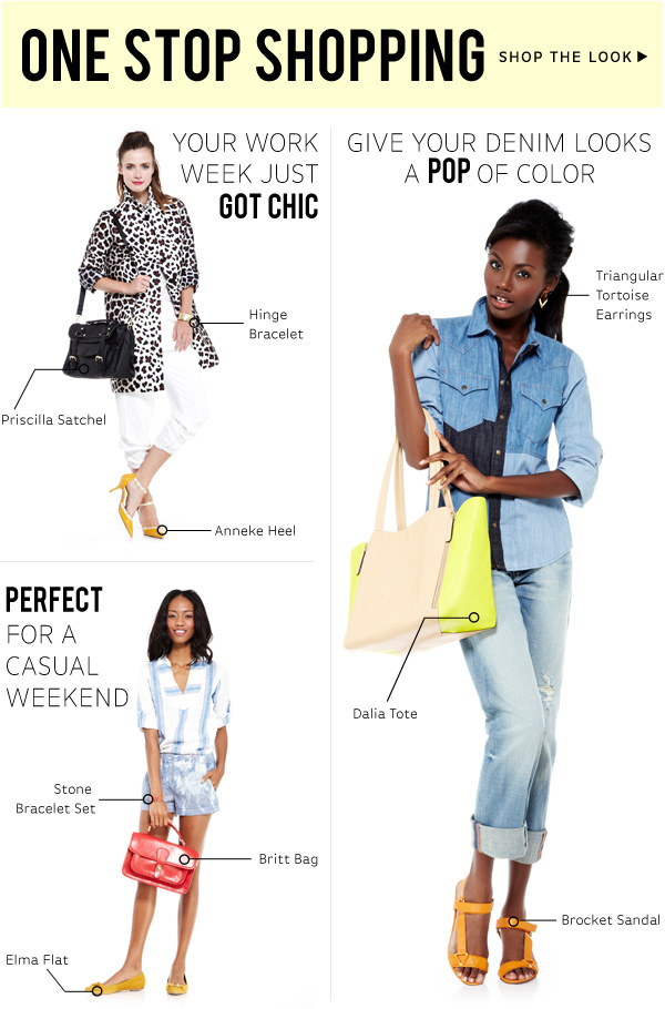 One Stop Shopping - Shop Get the Look!