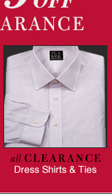 Extra 25% Off - Clearance Dress Shirts & Ties