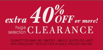 Extra 40% Off or more! - huge selection Clearance