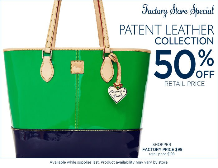 Patent Leather - Factory Store Special