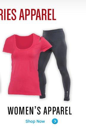 WOMEN'S APPAREL SHOP NOW»