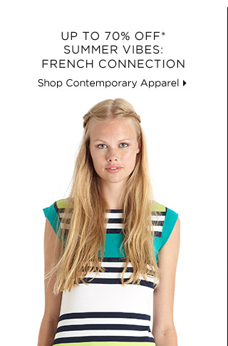 Up To 70% Off* Summer Vibes From French Connection