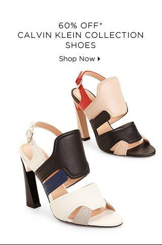 60% Off* Calvin Klein Collection Shoes