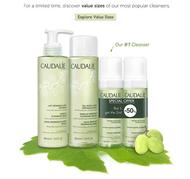 For a limited time, discover larger sizes of our most popular cleansers - Explore Value Sizes