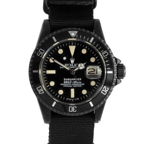 Rolex Submariner w/ Custom DLC/PVD Coating