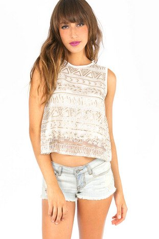 THE ONE YOU SEQUIN TANK TOP 33