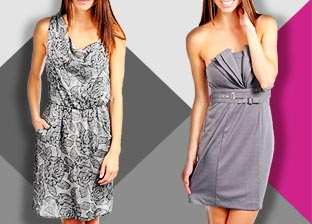 Shades of Grey: Women's Apparel