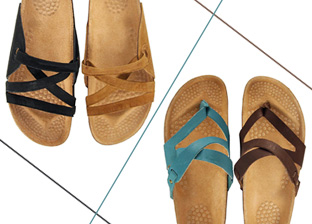 Italian Summer Sandals by La Bellatrix