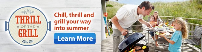 Thrill of the Grill - learn More