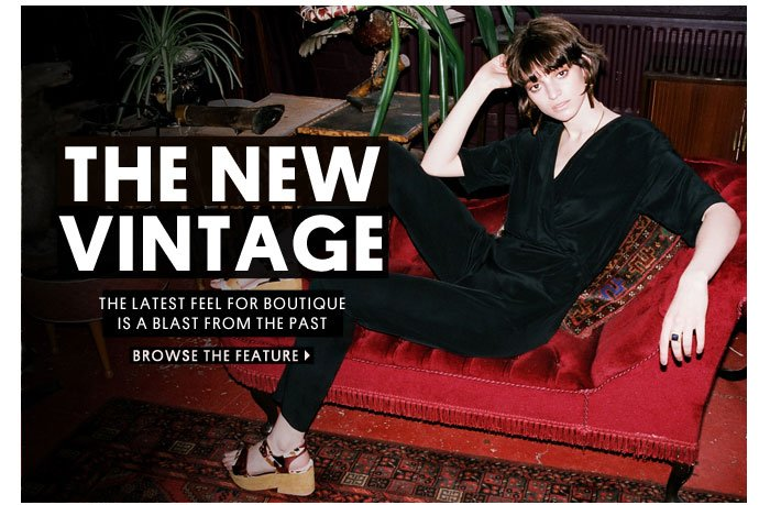 The new vintage - Browse the feature