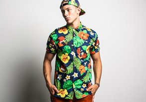 Shop Tropical Prints & More ft. WeSC