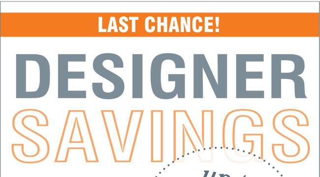 Designer Clearance