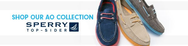 Shop our Sperry AO Collection!