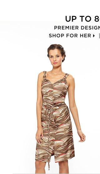 Up To 80% Off* Premier Designer Clearance - Shop For Her