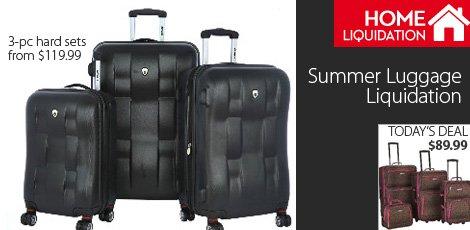 Summer Luggage Liquidation