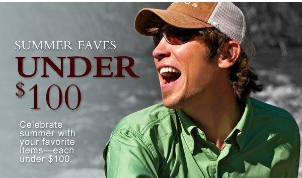 Summer Faves Under $100